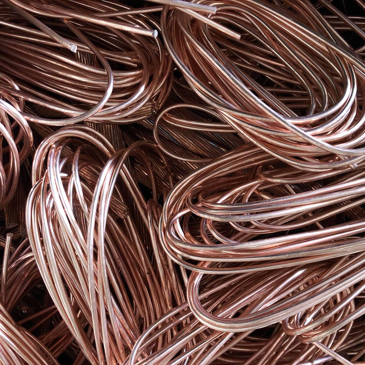 Kupfer - Buntmetall -Millberry Ankauf der Eisen Braun GmbH in Memmingen